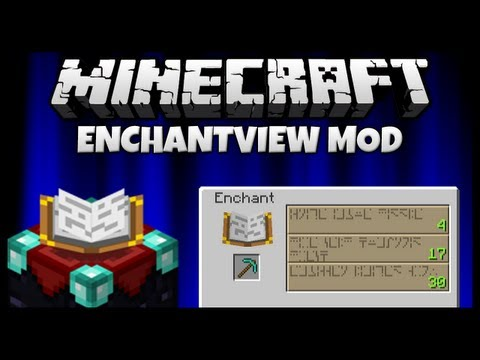 enchantview minecraft 1.6.4