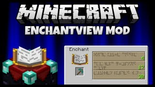 "No More Bad Luck! || ""EnchantView"" Mod Spotlight & Installation (Minecraft 1.5.1)"