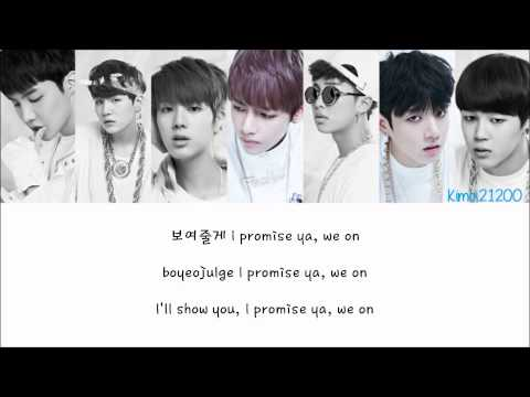 BTS (방탄소년단) – We On [Hangul/Romanization/English] Color & Picture Coded HD