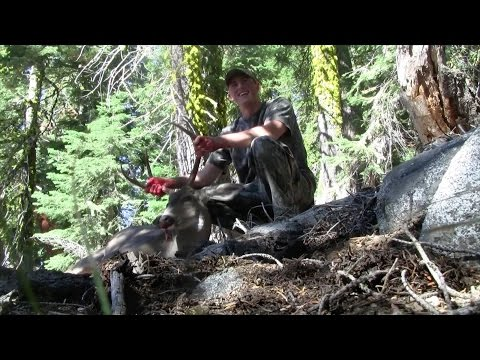 TRINITY ALPS BACKPACKING HUNT