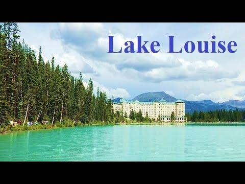 Fairmont Chateau Lake Louise Hotel And Hiking Banff National Park Alberta Canada