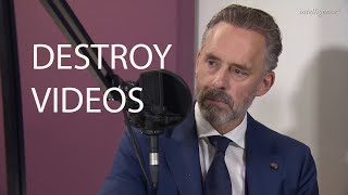 Jordan Peterson on Youtubers Making Destroy Videos About Him
