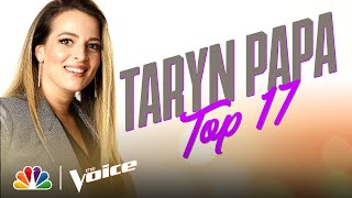 "Taryn Papa Sings Carly Pearce & Lee Brice's ""I Hope You're Happy Now"" - The Voice Live Top 17"