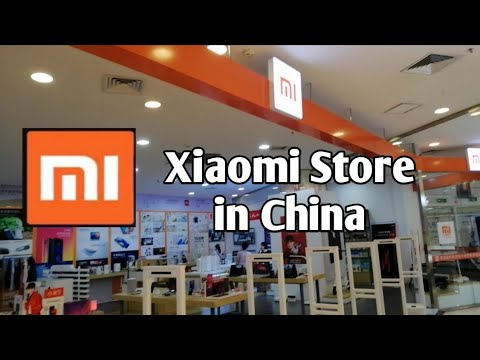 Xiaomi Store In China,중국 샤오미 매장,小米