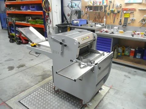 Abo atoma bread slicer used bakery machine