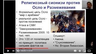 Лекция 4 Период Договора Осло и Размежевания 1992 2009 Курс История религиозного сионизма
