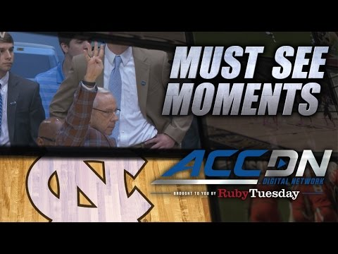 UNC Runs Four Corners Offense to Honor Dean Smith | ACC Must See Moment