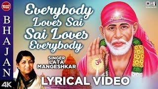 Everybody Loves Sai, Sai Loves Everybody With Lyrics | Lata Mangeshkar | Jaya Prada Ft.| Sai Bhajan