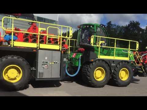 Rhino 100 - Highly mobile raise borer for slot raise drilling
