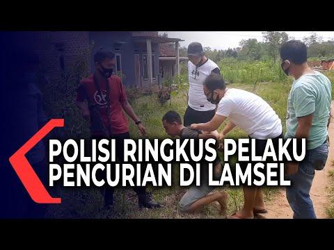 Pelaku Pencurian di Lampung Selatan Diringkus Polisi