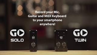 GO TWIN & GO SOLO: Mobile Recording
