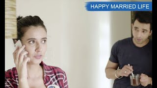 Hindi Short Film Love Story - Happy Married Life \ husband and wife relationship