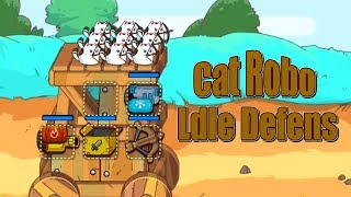 Cat'n'Robot: Idle Defense - Dino Go Corp Walkthrough