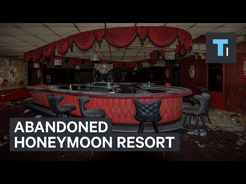 What happens when a Poconos honeymoon resort becomes abandoned