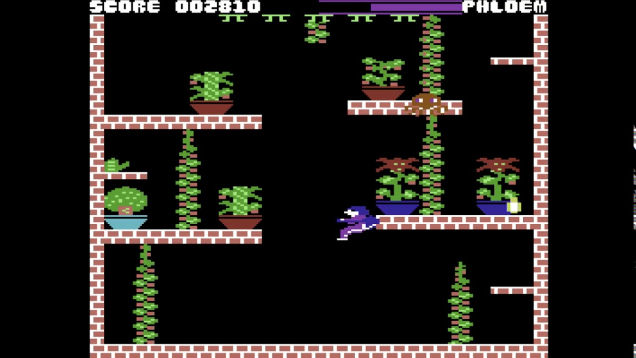 C64 Game: Microcosm