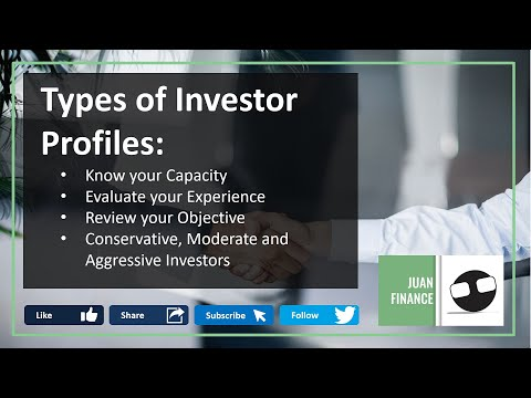 🇵🇭 Types of Investor Profiles   Know Your Capacity, Experience and Objective as an Investor