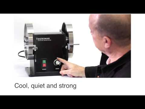 Tradesman DC Tool Grinder with Toycen DC Motor System