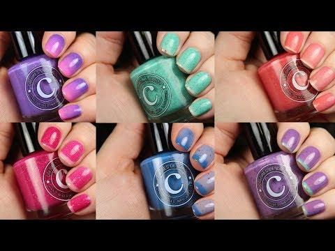 Colores de Carol Spring Thermals | Live Application Review