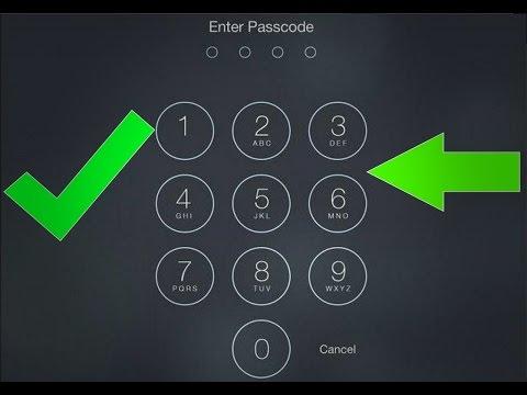 Как сбросить пароль на айпаде