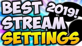 Best OBS Streaming Settings 2020/2019 UPDATED GUIDE! 🔴 (OBS v23 - NEW NVENC Encoding and MORE!)
