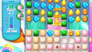 Candy Crush Soda Saga Level 223 (nerfed, 3 Stars)