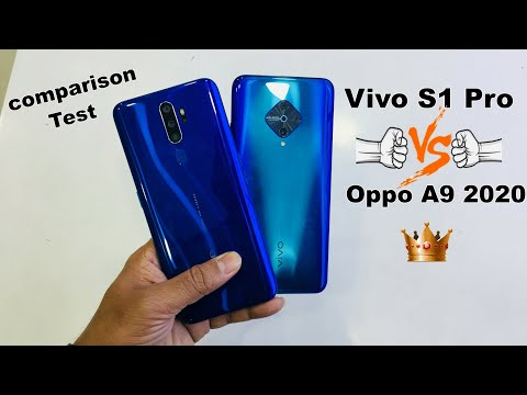 Vivo S1 Pro Vs Oppo A9 2020 Comparison Which One Is The Best