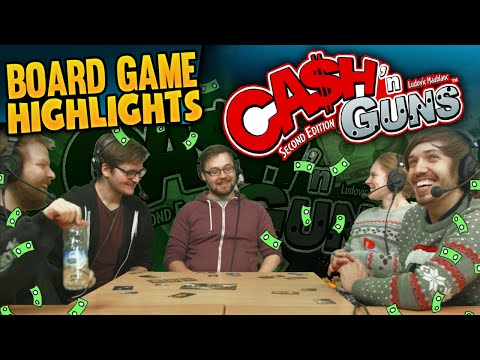 Board Game Highlights! #3 Cash 'n Guns!