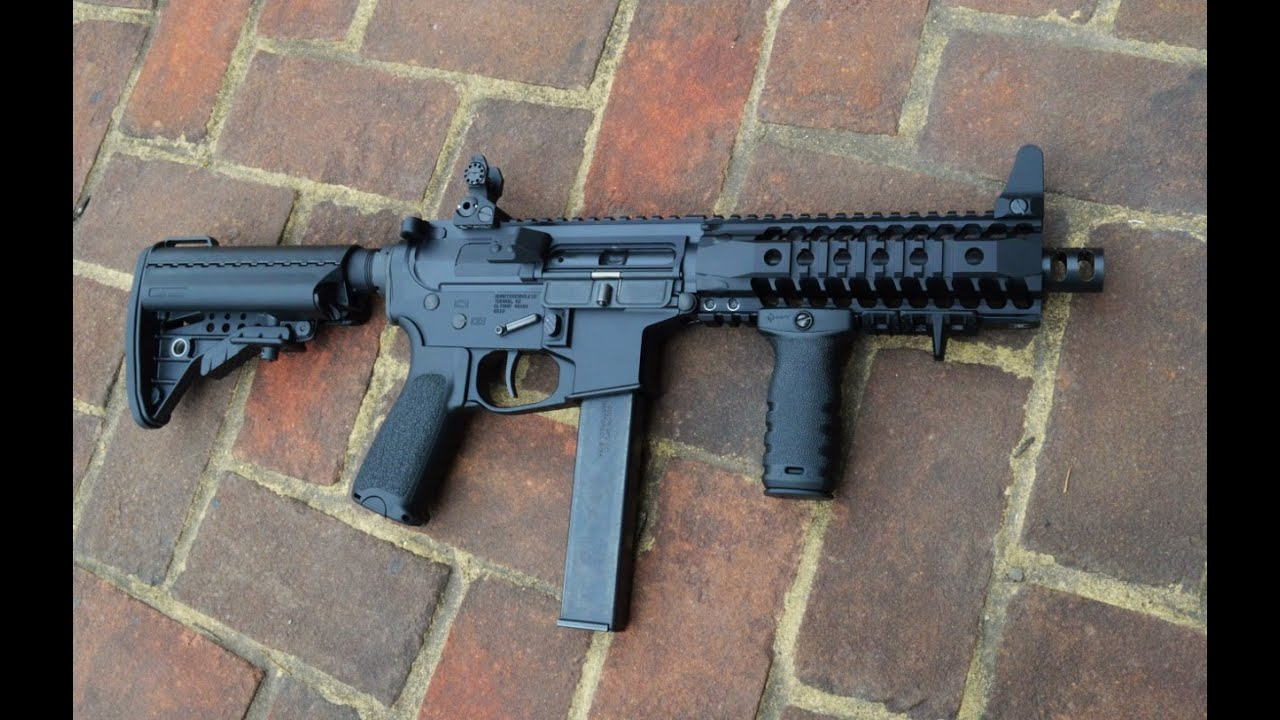 9mm Ar Sbr Youtube