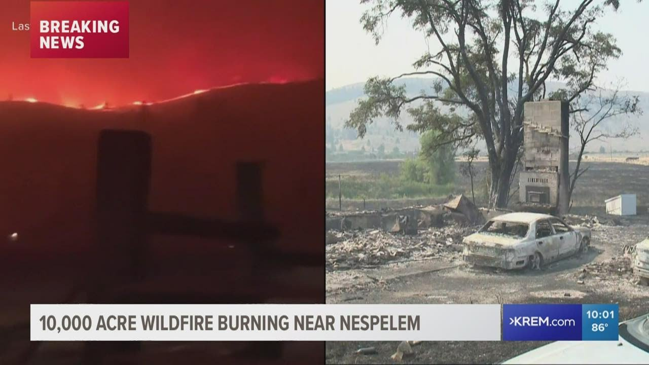 Wildfires prompt evacuations along the West Coast and hazy ...