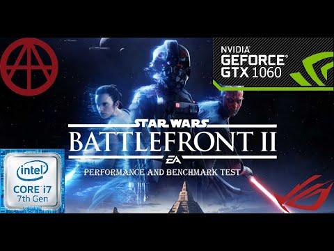 Star Wars Battlefront II-GTX1060 6GB-cor I7 7700 | ROG GL502VM