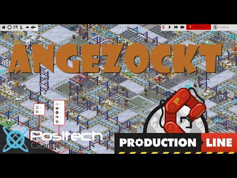Angezockt - Production Line - Eine Autofabrik - Gameplay deutsch/german - english subtitle
