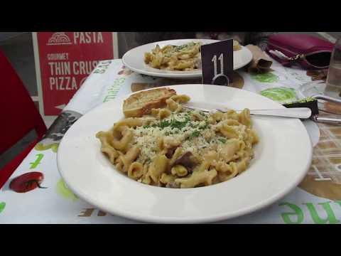 Pasta with Porcini mushroom cream sauce