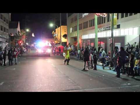 Sparky At Santa Parade Hamilton Bermuda November 27 2011