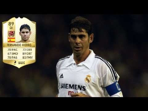 Fifa 17 Fernando Hierro Legend Review