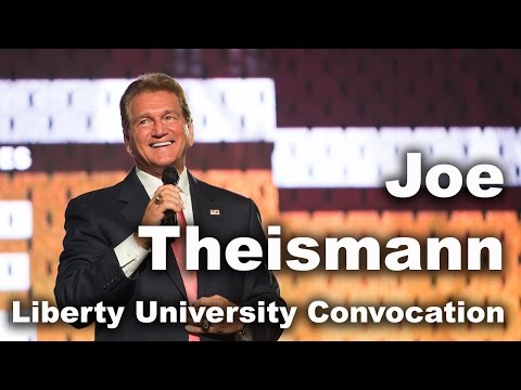 Joe Theismann - Liberty University Convocation