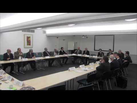 Roundtable Meeting between Iraqi Minister Ali Al-Adeeb & British Universities (13/3/2014)