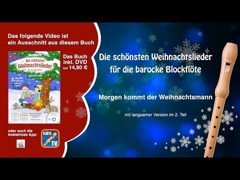 ♬-morgen-kommt-der-weihnachtsmann-☆-barocke-blockflöte-☆-weihnachtslieder-☆