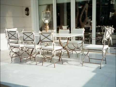 WROUGHT IRON MATT FINISH Garden Furniture   CAST IRON MATT FINISH Outdoor  Furniture Patio Furniture Part 94