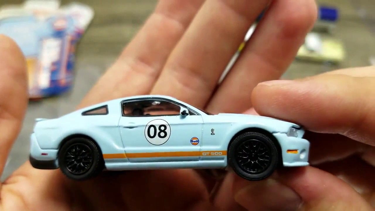 Greenlight 2012 ford shelby gt500 1 64