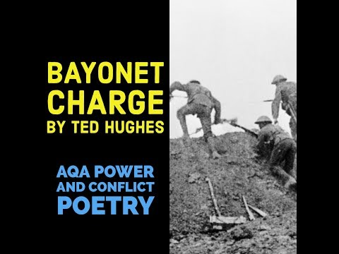 bayonet charge ted hughes essay Bayonet charge ted hughes essaysthe poem i have been studying recently is  titled bayonet charge and is written by ted hughes it is based on a soldier.