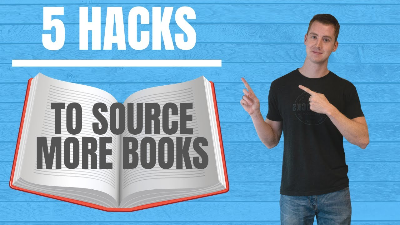 5 Hacks to Source More Books to Sell Amazon FBA for Beginners