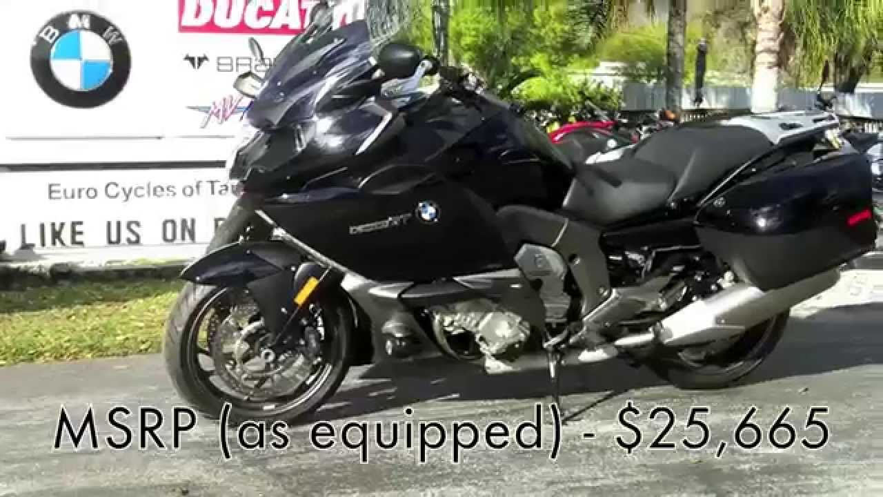 2015 Bmw K1600gt In Black Storm Metallic At Euro Cycles Of