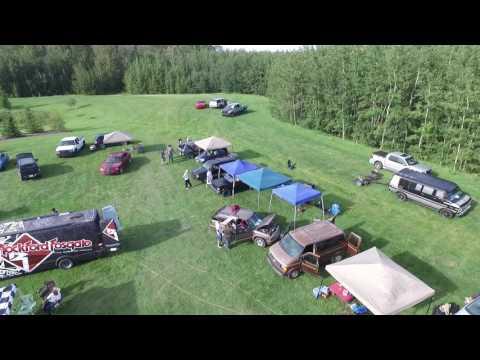 Jubilee park Spruce Grove Alberta car show