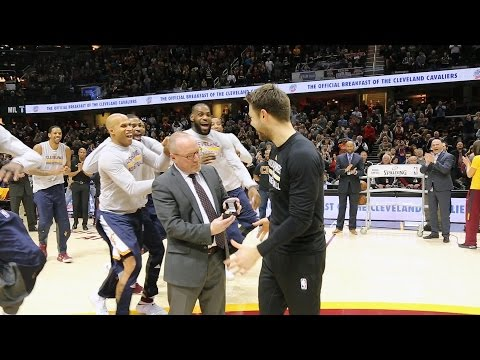 All-Access: Delly Gets His NBA Championship Ring