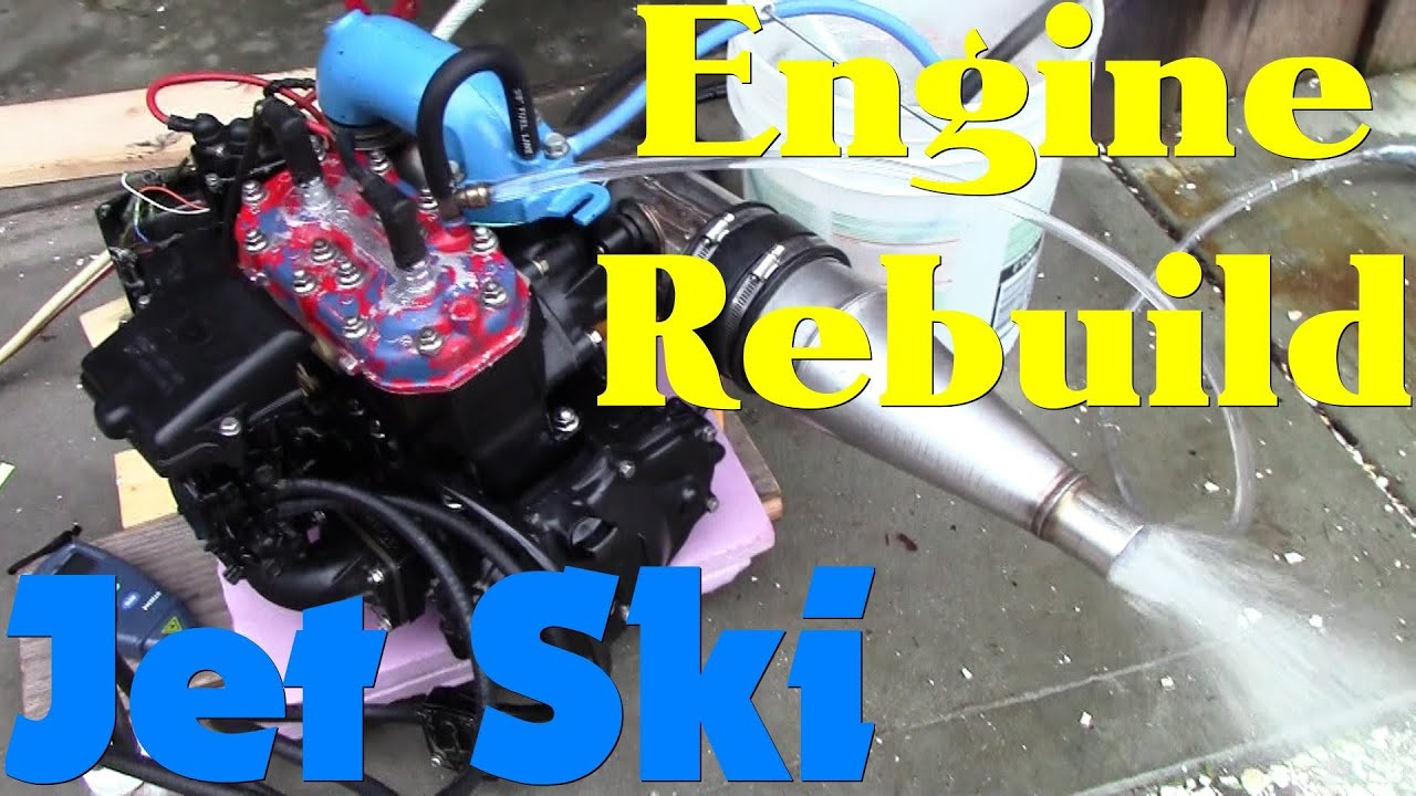 Jet Ski Engine Rebuild