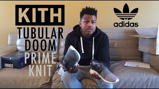 Kith x Adidas Tubular Doom PK Unboxing and Review