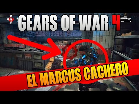 EL MARCUS CACHERO! EVENTO ESPECIAL OSOK   GEARS OF WAR 4