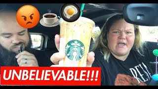 Starbucks Mukbang - Our First Fight...