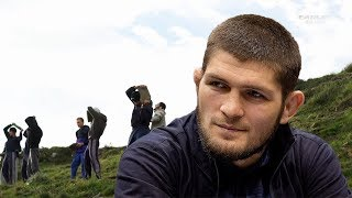 Khabib Nurmagomedov tells the secret of his training methods on 2000 metres above sea level