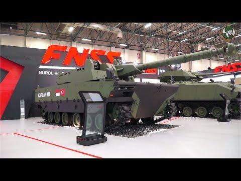 FNSS wheeled tracked armored PARS Kaplan MT Teber ACV 15 AV8 AACE Turkey defense industry IDEF 2017